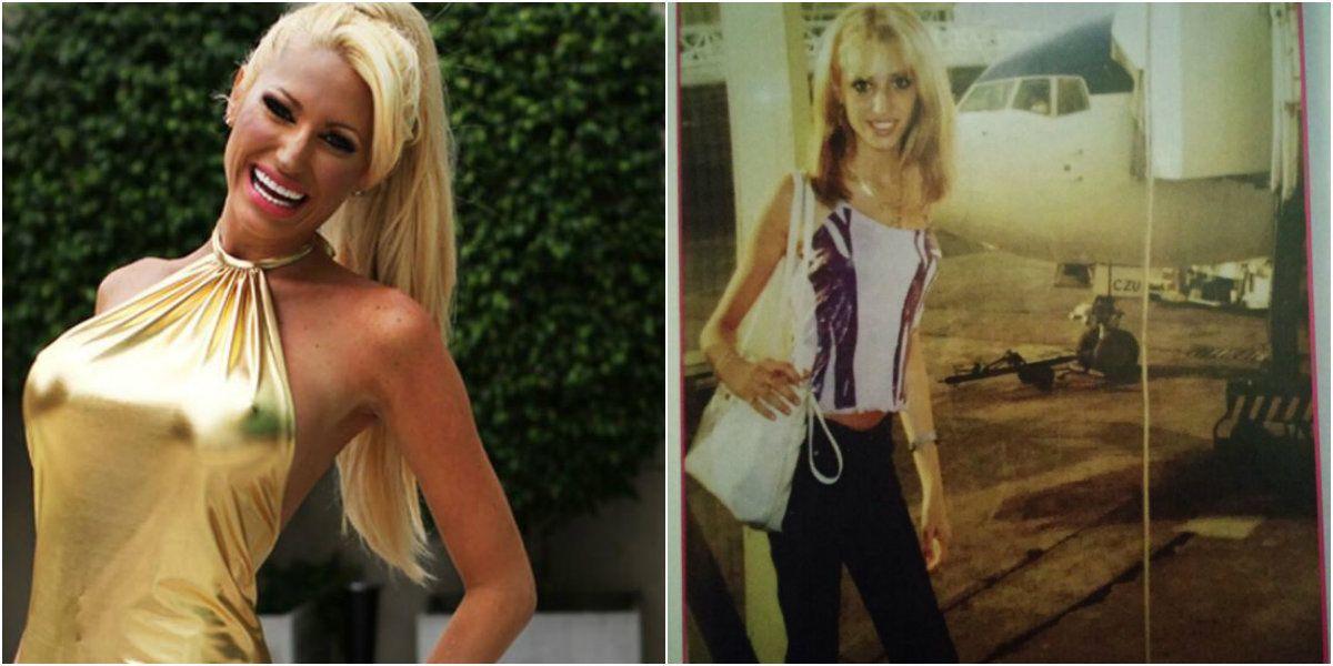 La foto de Vicky Xipolitakis cuando sufría anorexia
