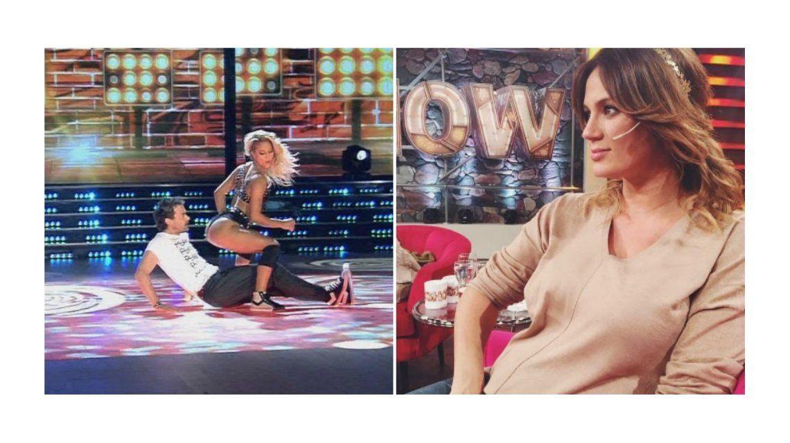 La reacción de Paula Chaves por el reggaetón de Pedro Alfonso con Flor Vigna y su enojo con el jurado