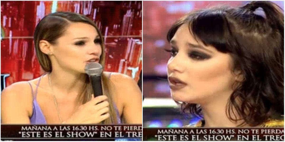 Pampita recargada: tenso cruce con Ángela Torres (primero) ¡y con Moria despúés!