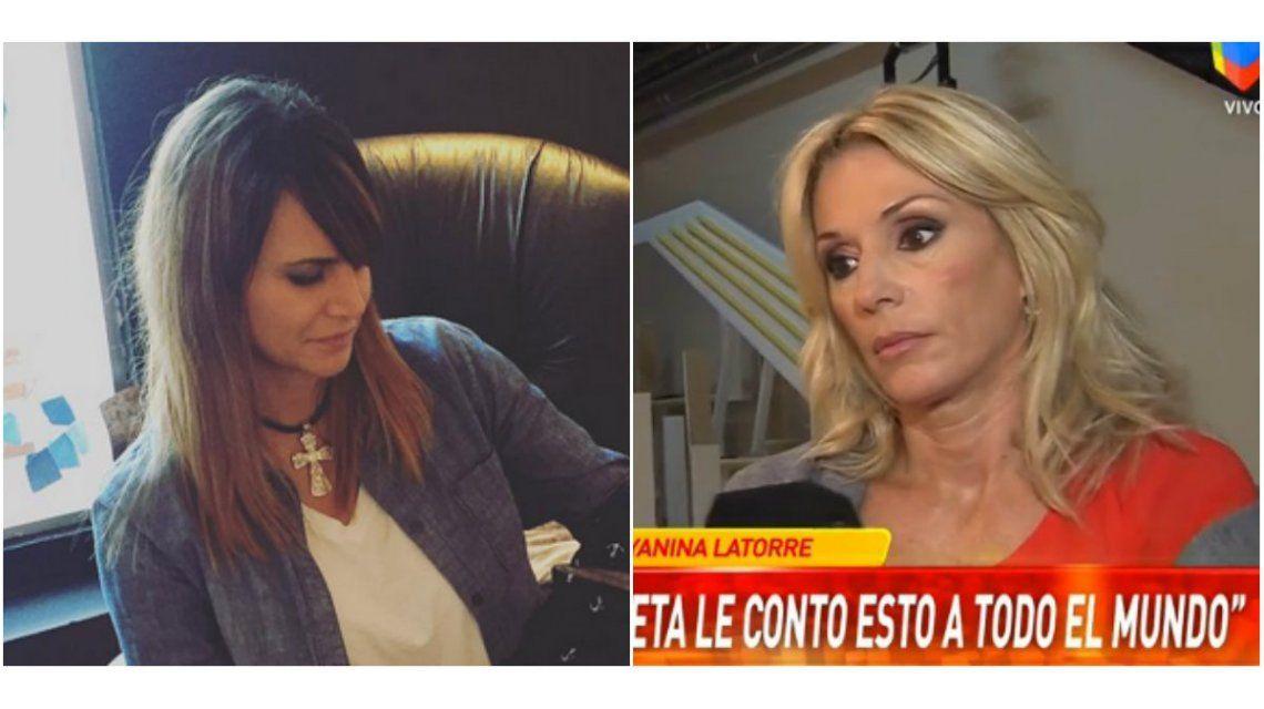 Yanina Latorre contó la inusual reacción de Amalia Granata frente a Squarzón: No discutió ni peleó, ella es muy particular