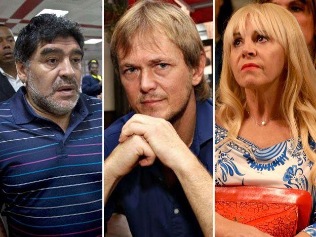 Maradona o Taiana: Reveladora respuesta de Dalma cuando le preguntaron quién cuidó mejor a Claudia Villafañe