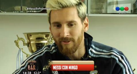 Imperdible entrevista de Minguito a Messi: desde su frustración en la Copa América hasta su intimidad en Barcelona