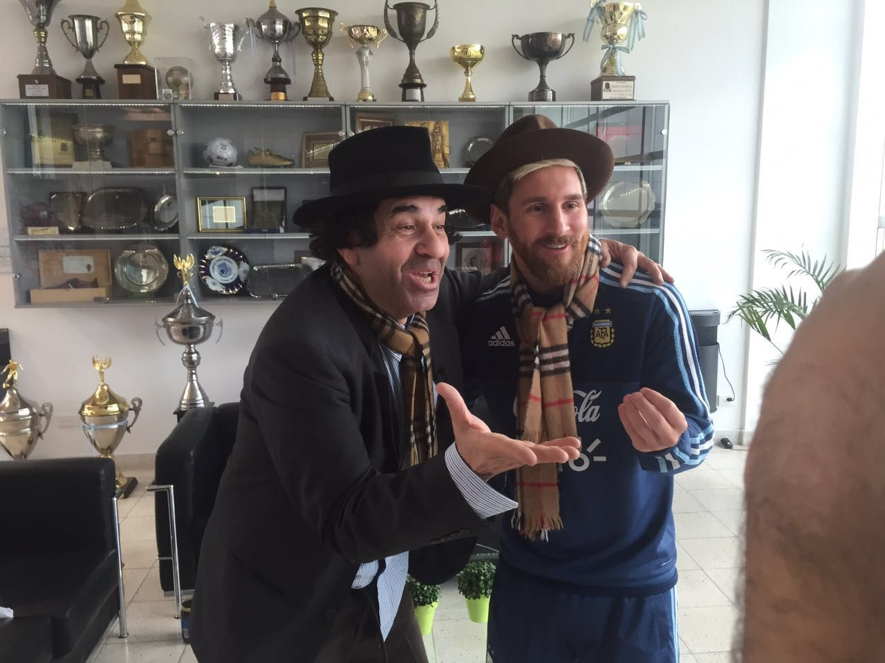 El encuentro de Lionel Messi, Minguito y la Selección Nacional