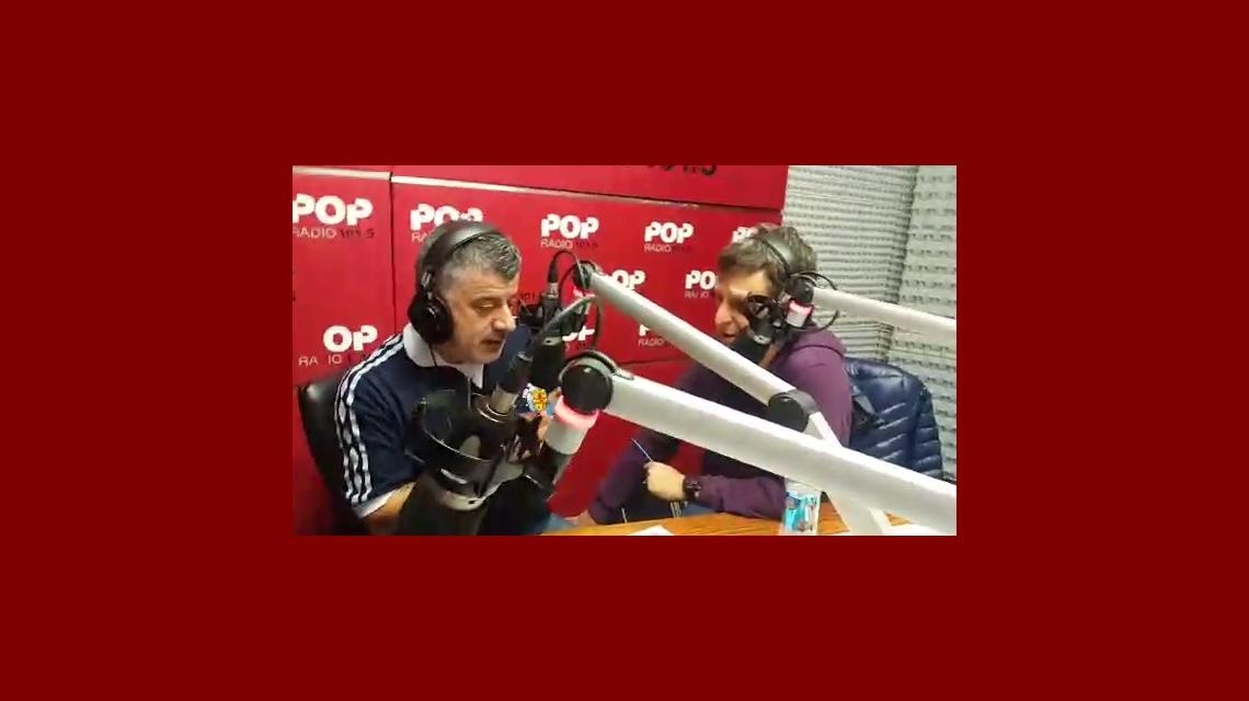 Divertida situación de Pichu Straneo en la radio: su hijo lo cargó por el golazo de Messi