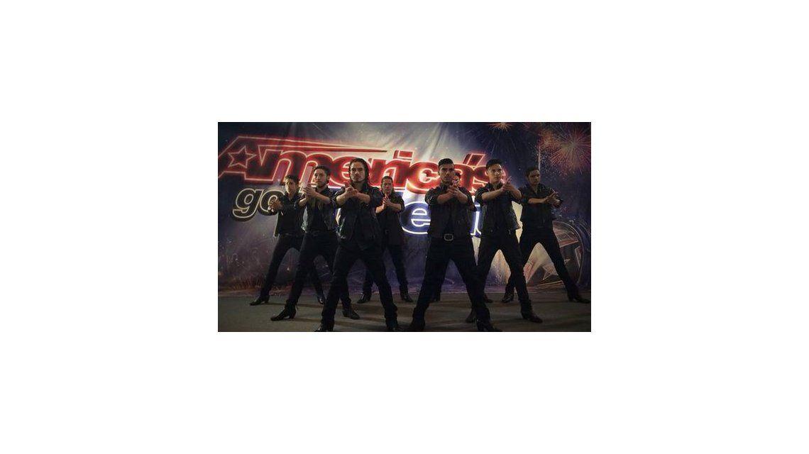 El grupo argentino Malevo quedó afuera de Americas Got Talent