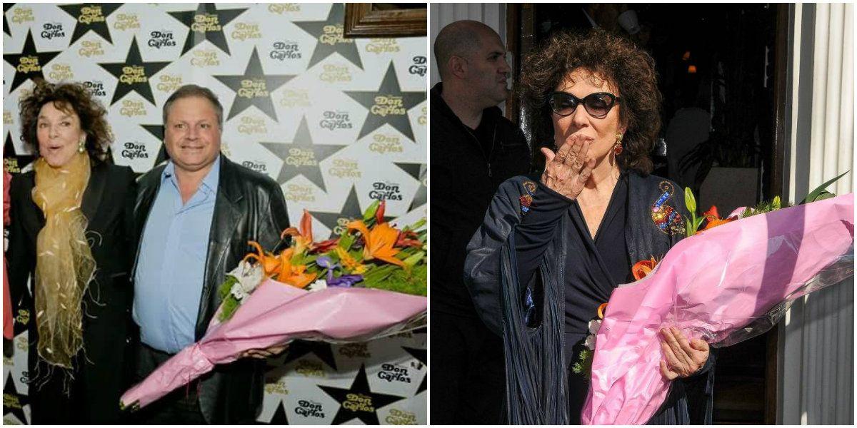 Llamativa coincidencia en un ramo de flores que Graciela Borges le dio a la mujer de Cacho Castaña: ¿le regaló su propio regalo?
