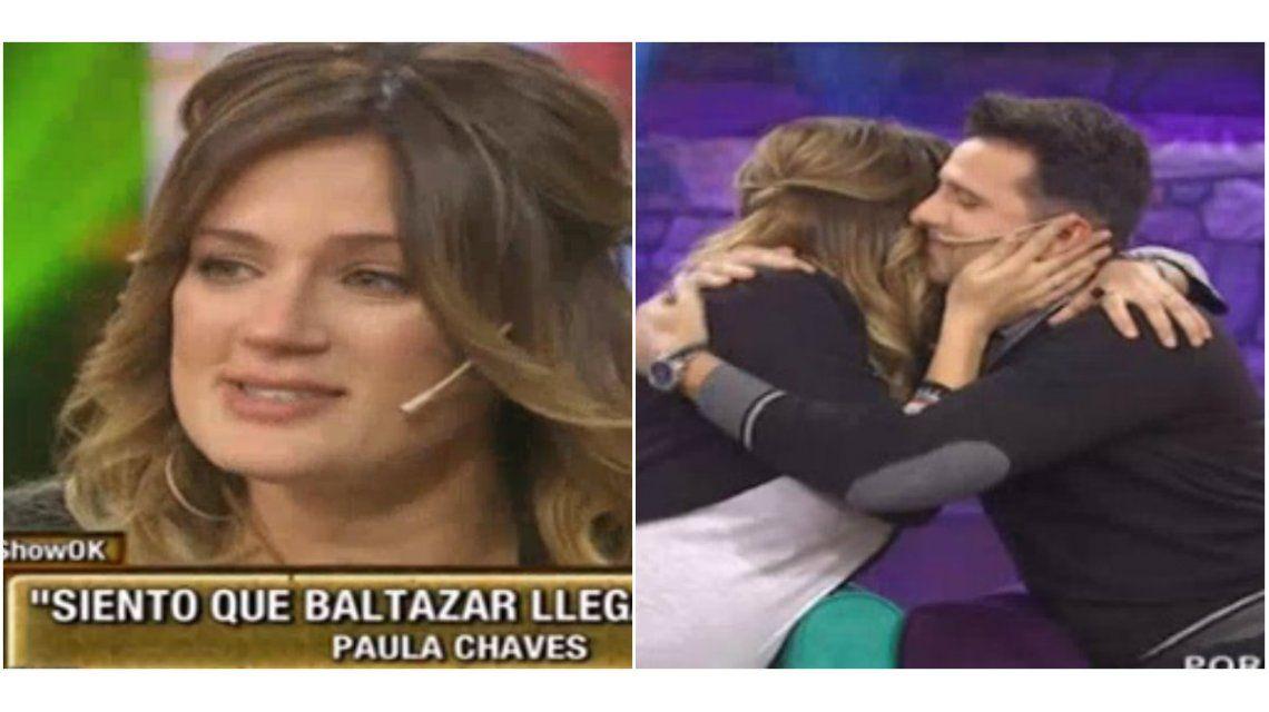 Con llanto y nostalgia, Paula Chaves se despidió de Este es el show: Me voy a esperar a mi bebé en casa