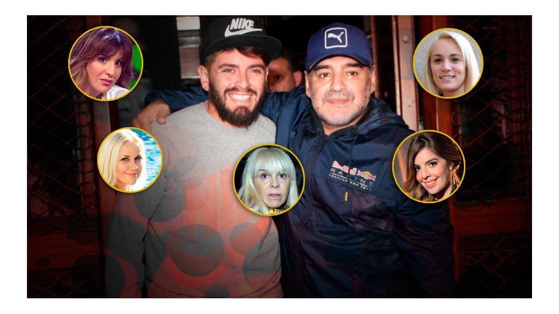Diego Maradona Jr.: En el futuro me veo con mi papá en cualquier lugar del mundo