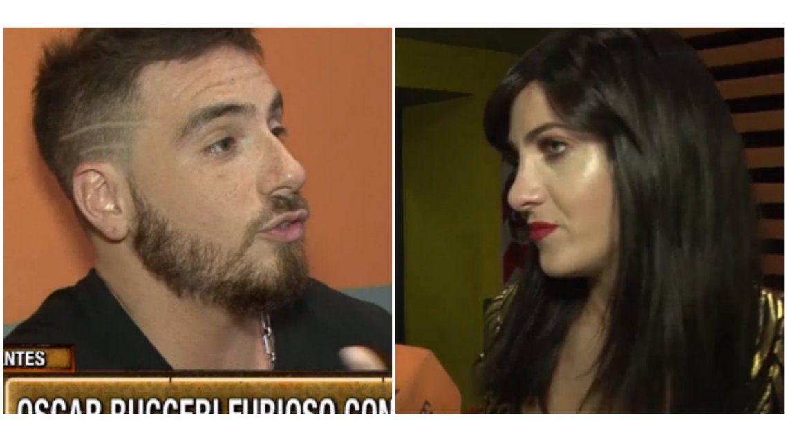 La angustia de Cande Ruggeri en maquillaje tras la pelea con Fede Bal y la reacción de él: Yo le hablé bien