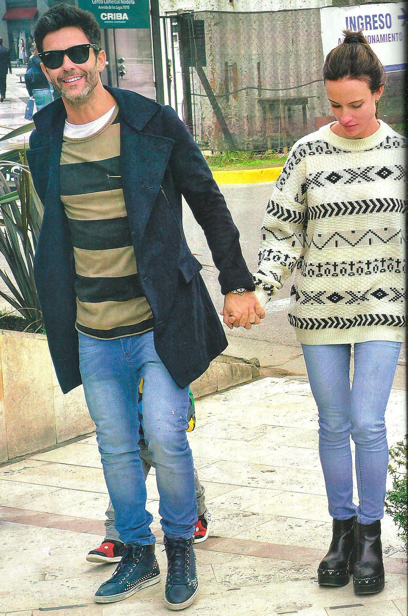 Mariano Martínez: miradas cómplices, besos y paseo con su nueva novia en Nordelta