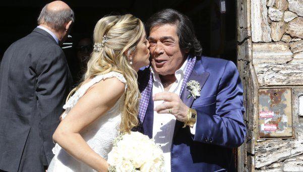 Se casó Cacho Castaña con Marina Rosenthal: Es el momento más feliz de mi vida, expresó ella