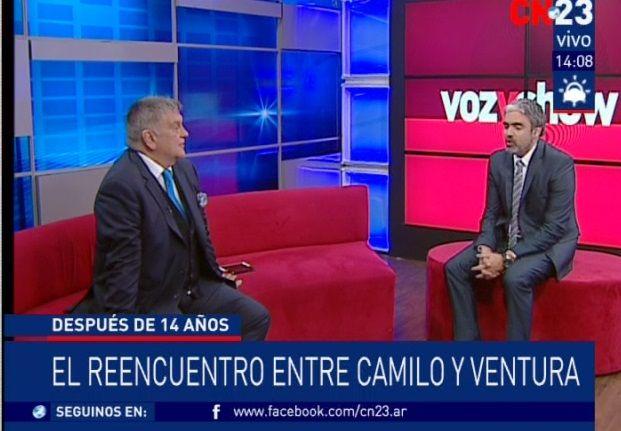 El reencuentro de Camilo García y Luis Ventura tras 14 años de distancia