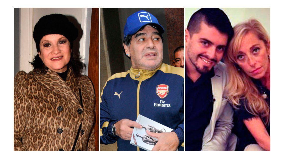 Lucía Galán: Maradona supo que Diego Jr. era su hijo desde que Sinagra quedó embarazada
