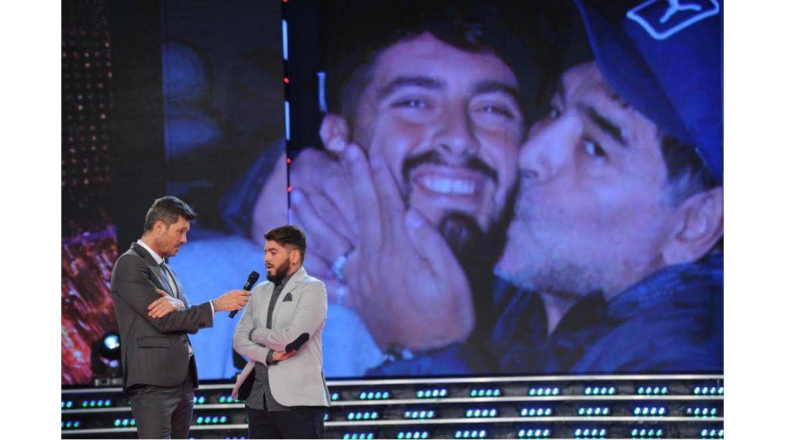 Diego Junior reveló la primera frase que le dijo Maradona cuando hablaron por teléfono: le pidió que lo llamé papá