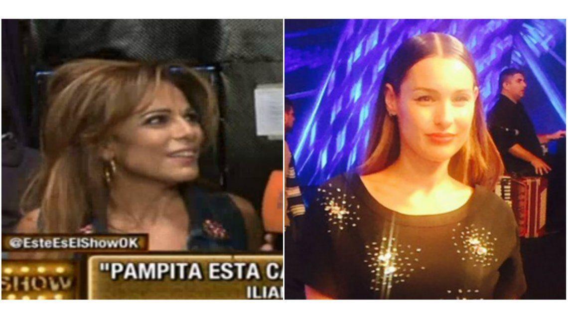 Iliana Calabró insiste con que Pampita está caliente con el jurado y desafía: Le gusta que se hable de ella