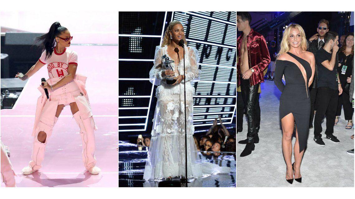 Las mejores y las peores vestidas de los MTVs
