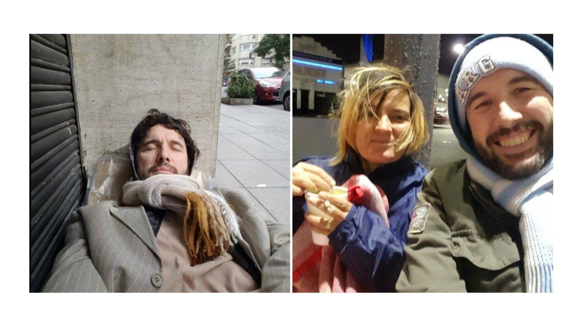 Ergün Demir duerme en la calle y ayuda a los pobres