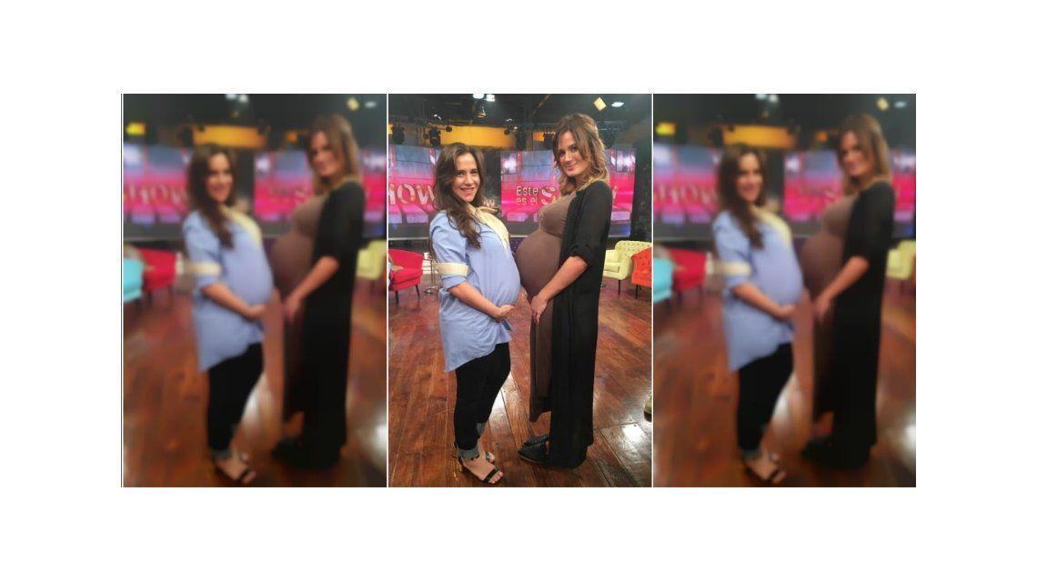 Los entretelones de Este es el Show y las divertidas anécdotas de embarazo de Paula Chaves y Julieta Camaño
