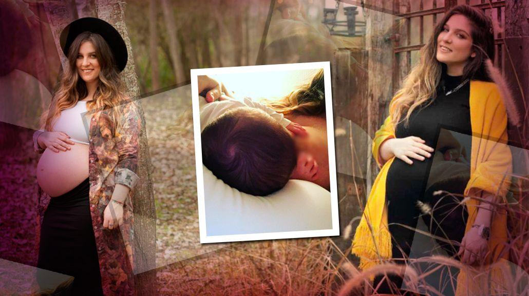 Juana Repetto compartió una imagen dándole la teta a Toribio