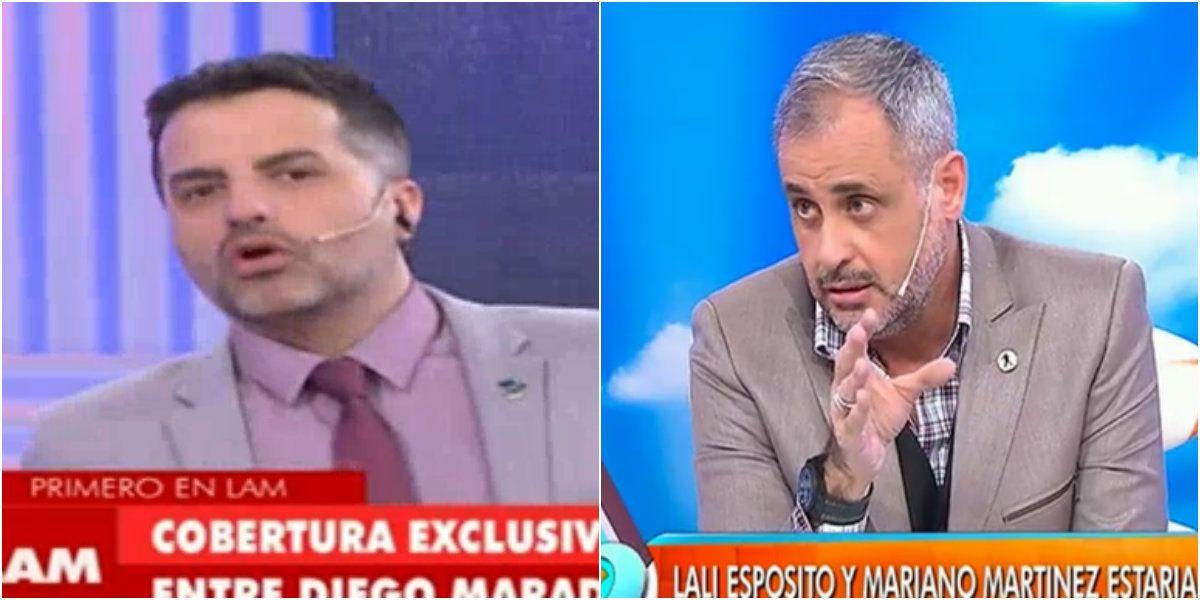 Ángel de Brito ¿y un palito para Jorge Rial?: Es bastante triste hacerse cargo del encuentro entre Maradona y su hijo