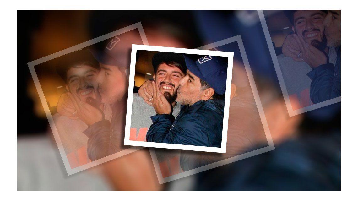 Diego Junior, tras el reencuentro con Maradona: Una sensación increíble, ¡Lo mejor está por venir!