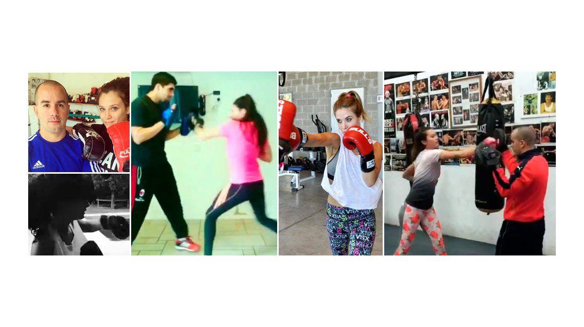 Copan el cuadrilátero: el boxeo, la nueva costumbre de las famosas argentinas