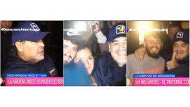 Maradona, sobre Diego Jr.: Lo quiero muchísimo y se parece al padre