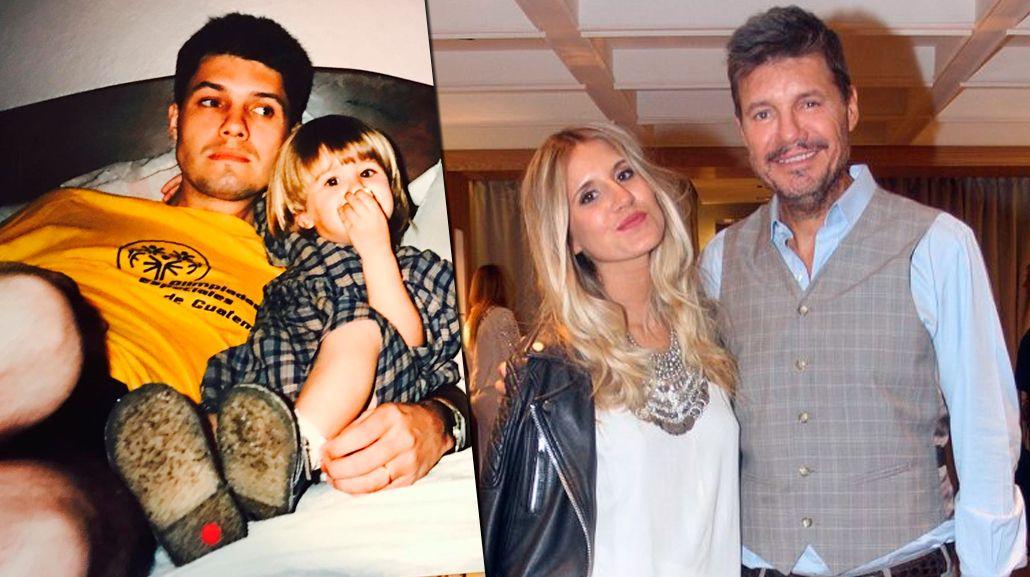 El tierno saludo de Marcelo Tinelli por el cumpleaños de su hija Micaela, con foto retro incluida