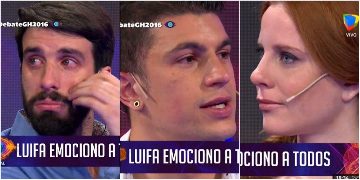 Luifa se reencontró con su padre y emocionó a todos: el llanto de Flavio Azzaro y Agustina Kämpfer