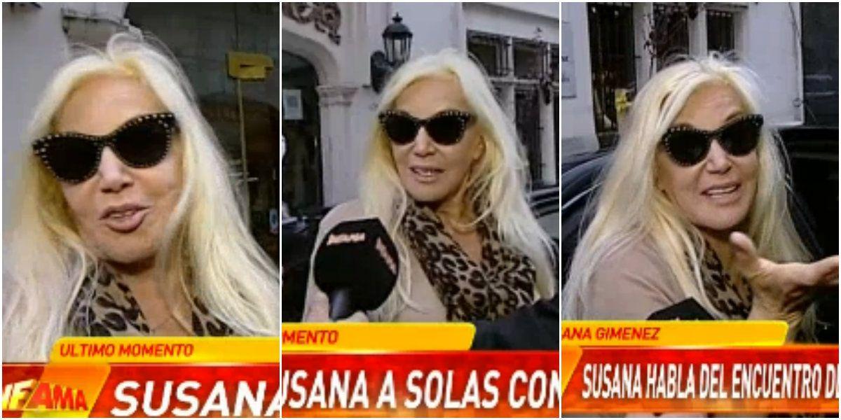 Susana Giménez: el encuentro de Maradona con su hijo, la tapa de revista de su nieta Lucía Celasco ¡y un pedido fashion en medio de la nota!