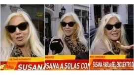 Susana habló del encuentro de Maradona con su hijo y la tapa de revista de su nieta