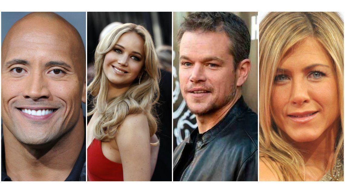 Estos fueron los actores mejores pagos de 2016 y la actriz que lidera el podio por segundo año