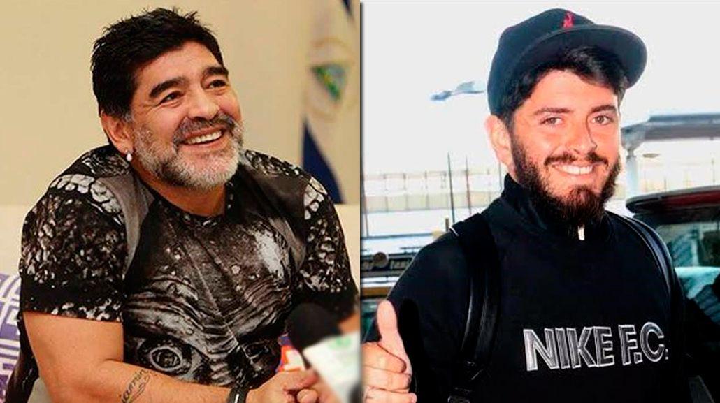 Diego Jr. habló de su reencuentro con Maradona: Yo no tenía miedo, él es mi padre