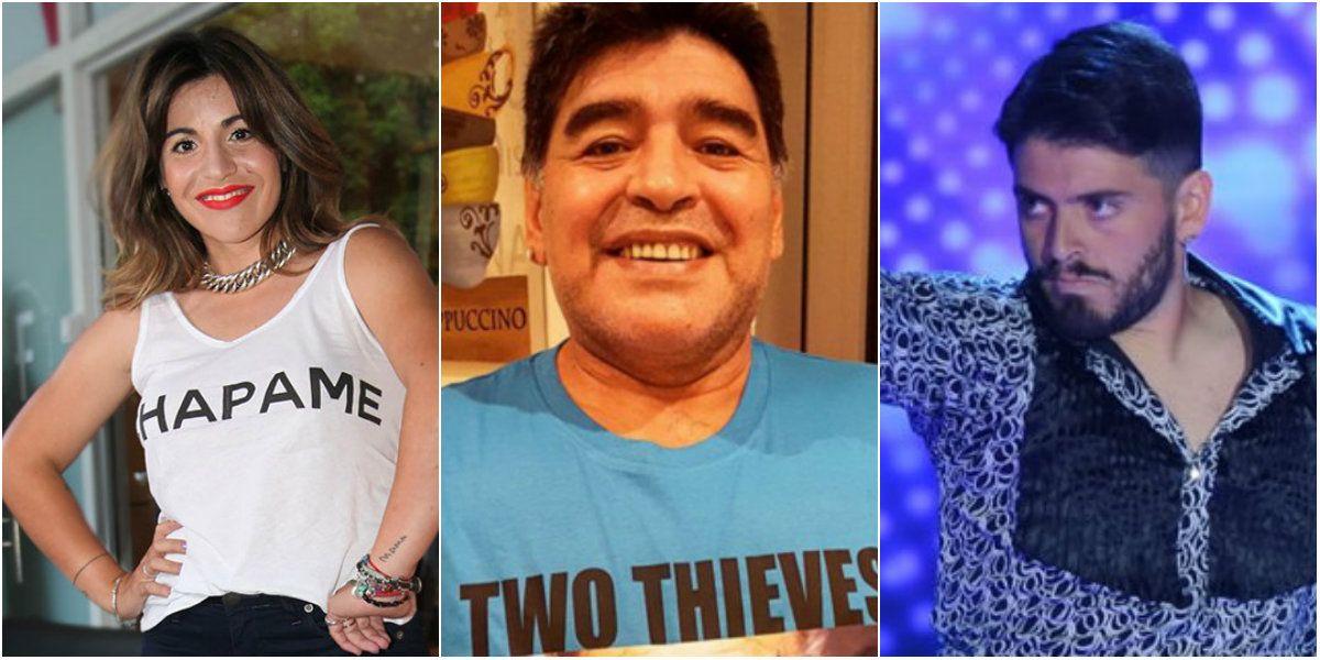 Gianinna, durísima con Maradona: Quiero pedirle disculpas a Diego Jr. por haber creído una mentira de mi papá
