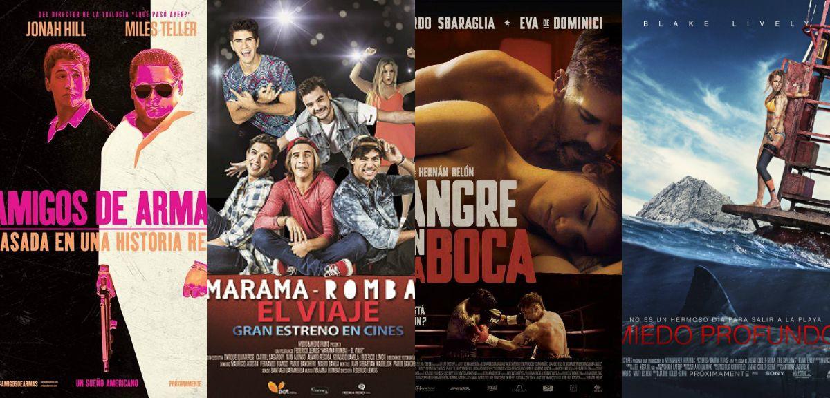 La película de Márama y Rombai, y el filme de Eva de Dominici y Leo Sbaraglia