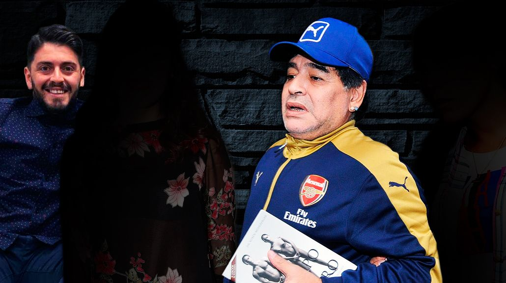 Los detalles del encuentro de esta noche de la familia Maradona