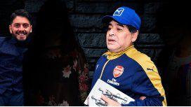 Los detalles del sorpresivo reencuentro de la familia Maradona en una cena íntima