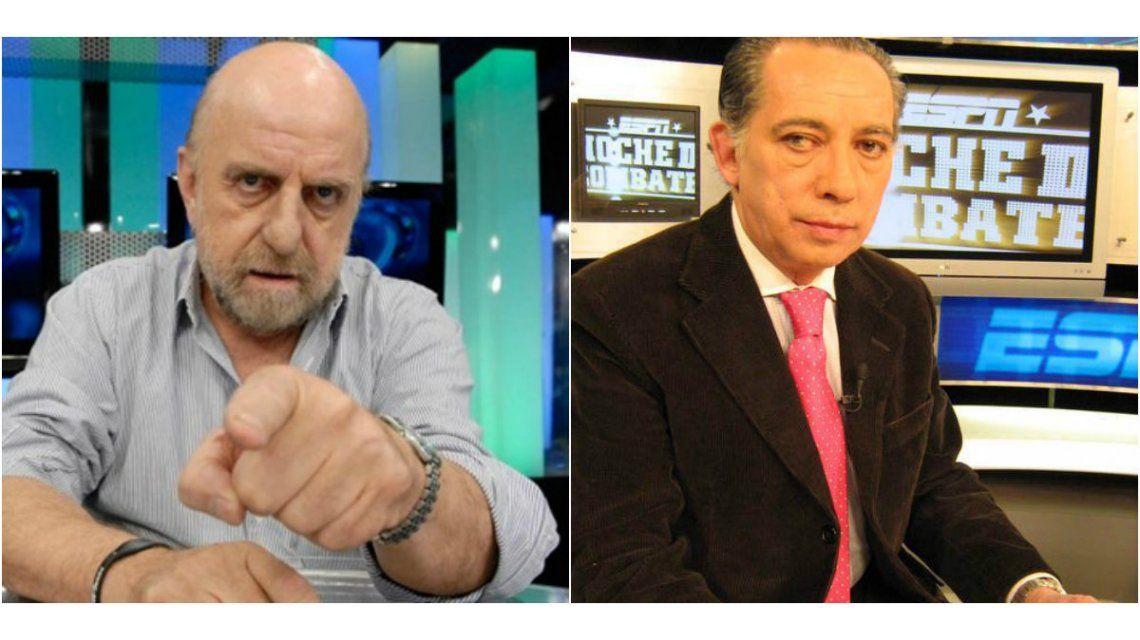 Escándalo en el periodismo: Pagani apretó a Irusta y este salió al cruce en Twitter