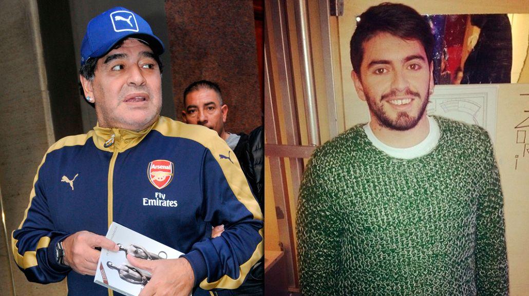 A corazón abierto: Maradona se encontró con Diego Jr.