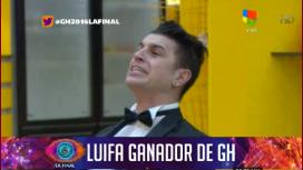 Luifa se consagró ganador de GH 2016 tras un mano a mano con Ivana Icardi
