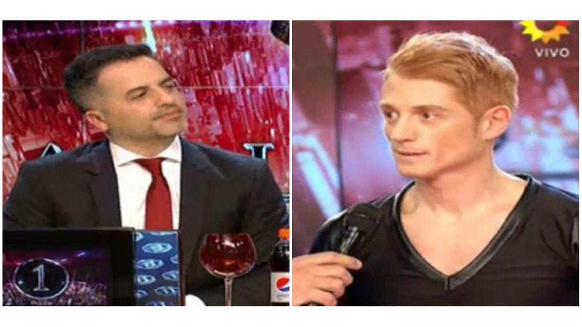 Liberman criticó a Ángel de Brito: el periodista y el jurado lo mataron con el puntaje
