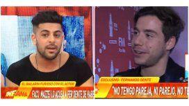 Facundo Mazzei habló de la vida privada de Fer Dente y tuvo que salir a pedir disculpas: la respuesta del cantante
