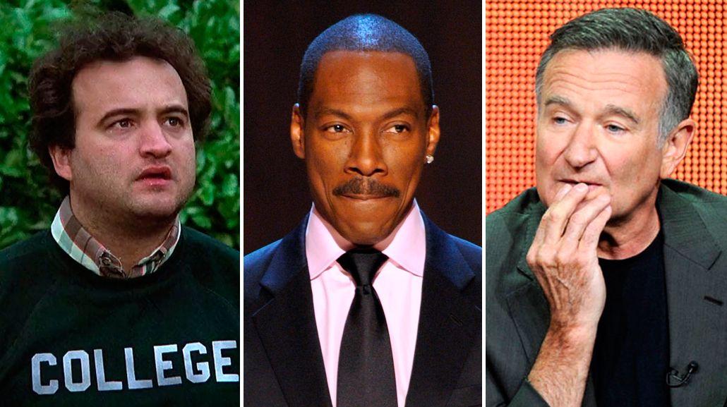 El crudo relato de Eddie Murphy cuando rechazó drogarse con Robin  Williams y John Belushi