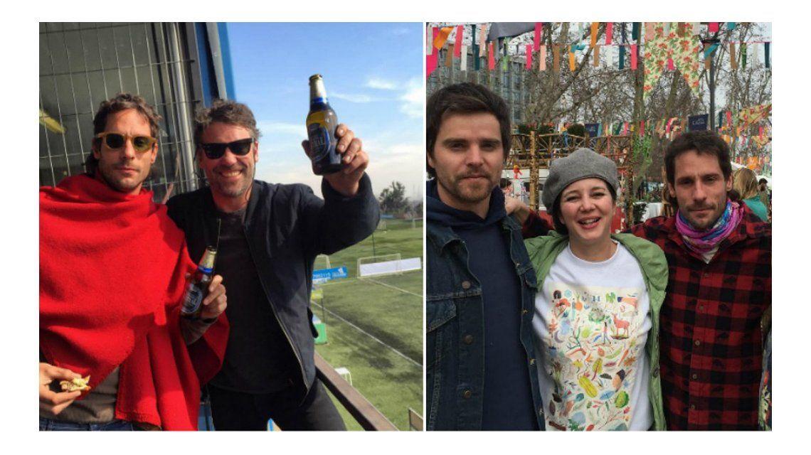 En medio de los rumores de separación, Gonzalo Valenzuela se divierte con amigos