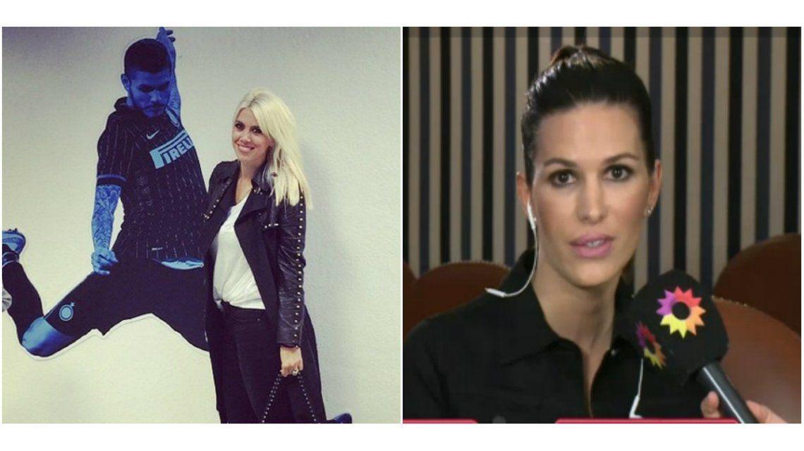 Carolina Molinari, mujer de Pavone, salió al cruce por la carta de Wanda ¡y ella mandó un picante tuit!