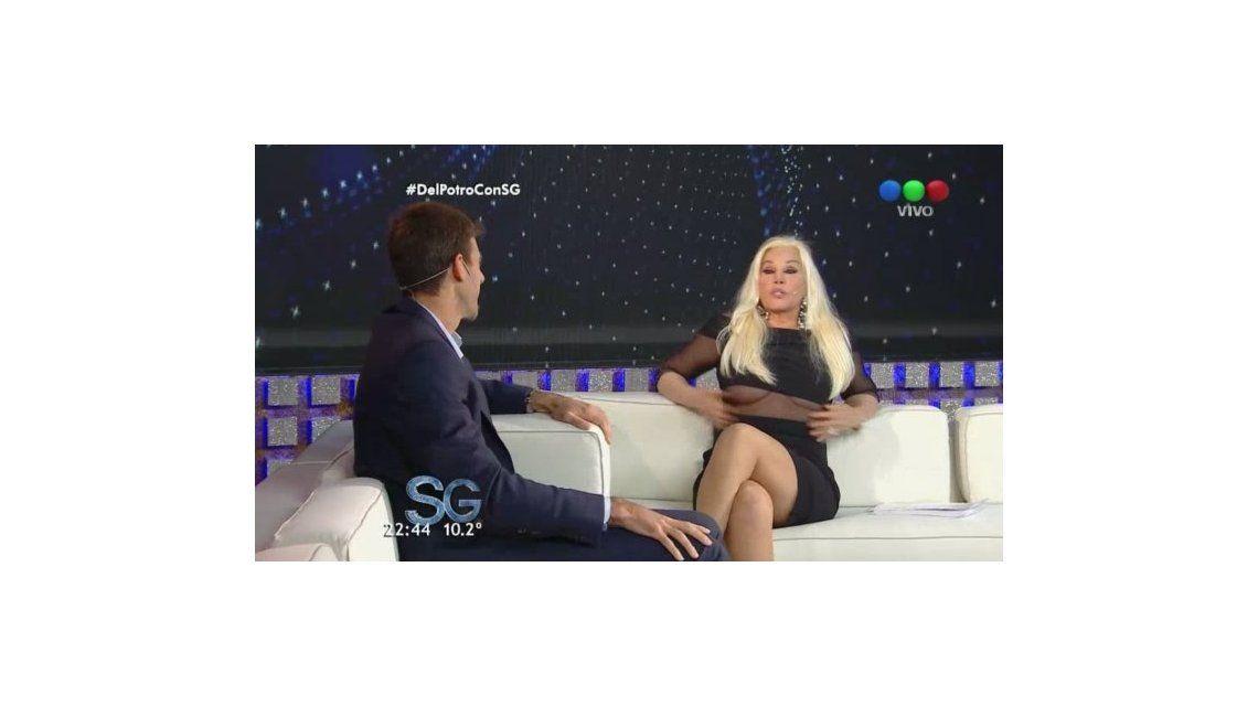 El coqueteo entre Susana Giménez y Del Potro; y el blooper hot de la diva: Me enloquece verte