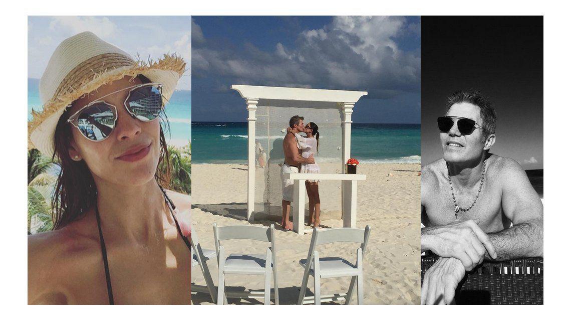 Fernando Burlando y Barby Franco dieron en sí, quiero en las playas de Cancún