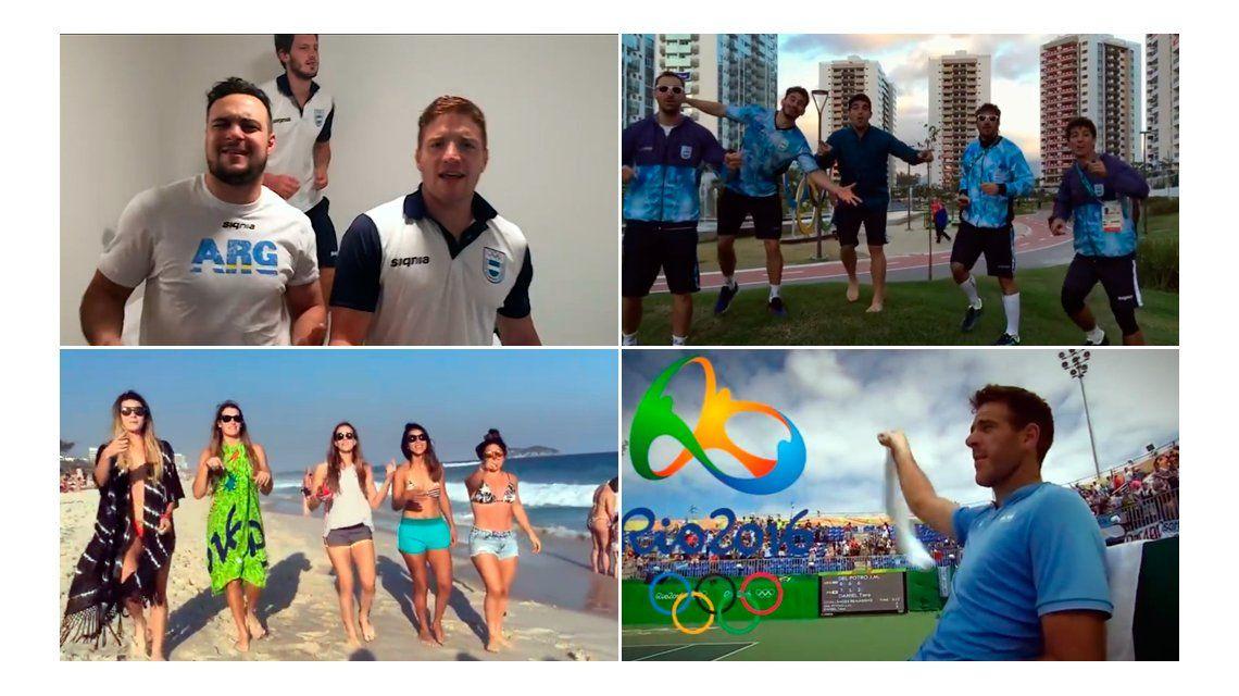 VIDEO: En el cierre de Río 2016, la delegación argentina bailó al ritmo de Los Bonnitos:
