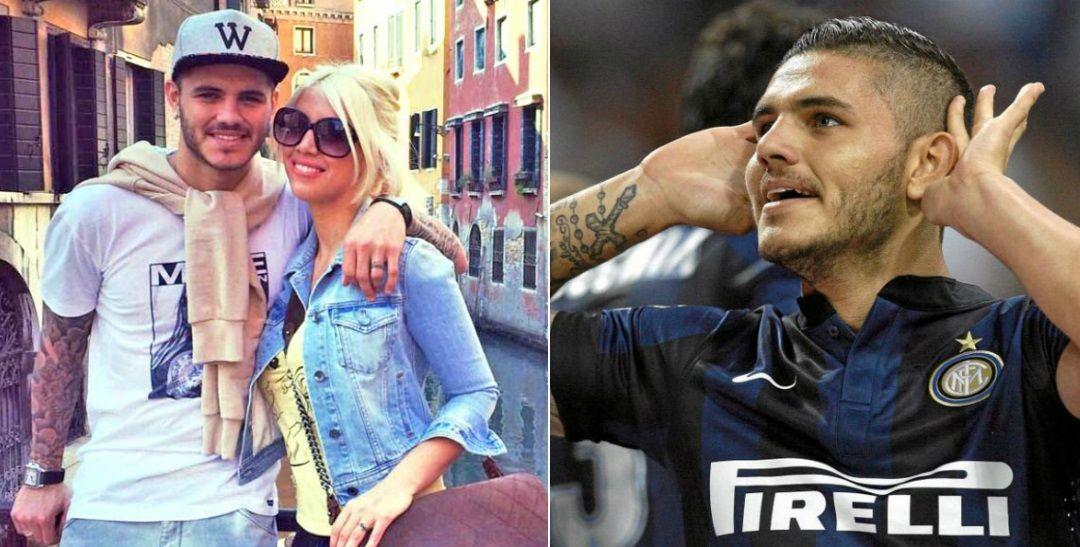 Ganó Wanda: en Italia la felicitan por el contrato millonario que logró para Icardi en el Inter