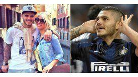 En Italia felicitan a Wanda por el contrato millonario que logró para Icardi en el Inter